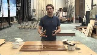 How to create a woodgrain effect