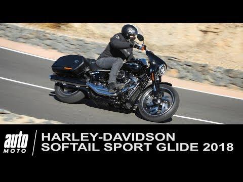2018 Harley Davidson Softail SPORT GLIDE ESSAI Auto Moto