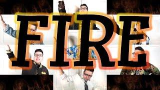 Bangtan Boys (방탄소년단) - 불타오르네 'Fire' (English Cover)