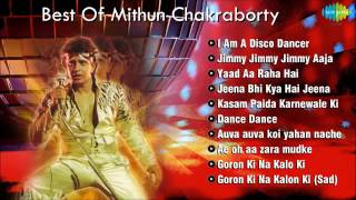 Best Of Mithun Chakraborty   Disco Dancer   Popular Bollywood Songs   Dance Songs