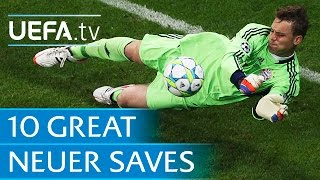 Ten great Manuel Neuer saves