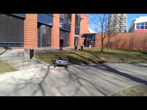 University of Wrocław - Continuum Mars Rover Team CDR video