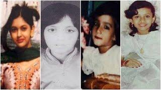 নায়িকাদের ছোট বেলার ছবি । Bangladeshi Actresses Rare and Unseen Childhood Photos