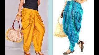 How to make latest dhoti harem pants Easy making DIY