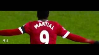 Anthony Martial ALL 25 GOALS and ASSISTS in 2015 2016 HD