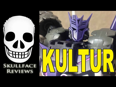 Transformers 3rd Party Mastermind Creations Reformatted Kultur (Tarn)