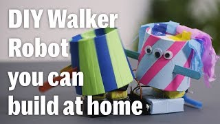 BattleBots: How to Build a Walker Robot With Your Kids