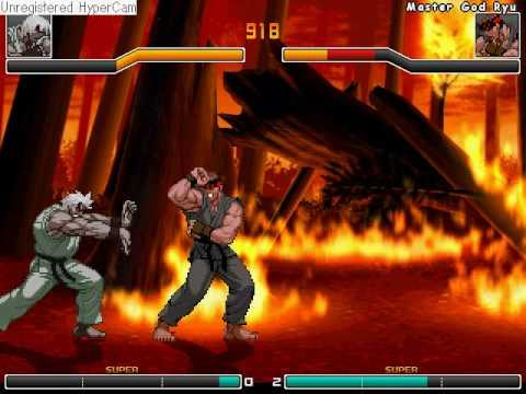 Master God Ken VS Master God Ryu