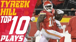 Tyreek Hill's Top 10 Plays of the 2016 Season   NFL Highlights