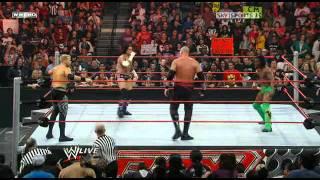 WWE Raw 03 30 09 CM Punk vs Kane vs Shelton Benjamin vs Finlay vs Mark Henry vs Christian vs Kofi Kingston vs MVP