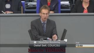 Detlef Seif liest Böhmermann Gedicht im Bundestag vor