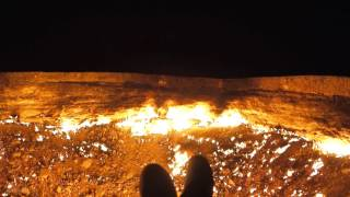 Download Door To Hell - Darvaza Gas Crater, Turkmenistan 3Gp Mp4