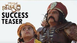 Gautamiputra Satakarni Success Teaser || Nandamuri Balakrishna, Shriya Saran || Krish