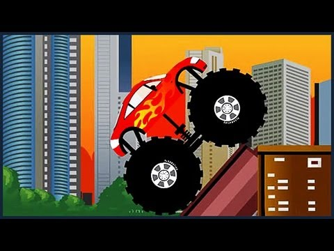 Monster Truck Destroyer All 12 levels Walkthrough