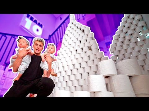 10 000 TOILET PAPER ROLL FORT