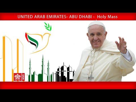 Xxx Mp4 Pope Francis Abu Dhabi Holy Mass 2019 02 05 3gp Sex