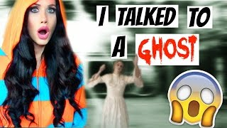 I TALKED TO A GHOST | STORYTIME | COLLAB WITH JESSII VEE