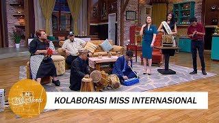 Kolaborasi Bermusik yang Keren Miss Internasional 2017 dan Kang Dadan