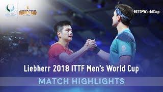 Fan Zhendong vs Timo Boll I 2018 ITTF Men