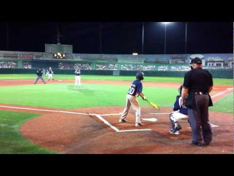 12 year old Catcher celebrates a strikeout and a win is ejected