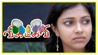 Vikadakavi Tamil movie | scenes | Sathish reveal truth about Amala Paul's uncle
