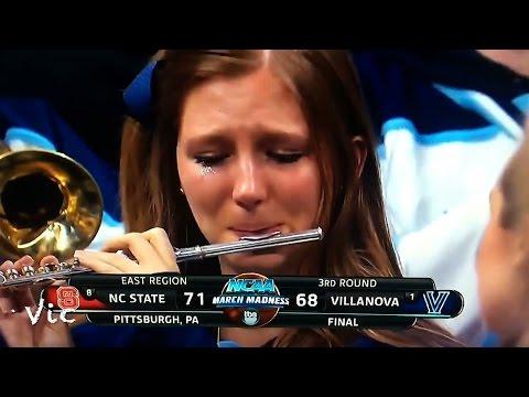 Villanova s Crying Piccolo Girl Steals the Show