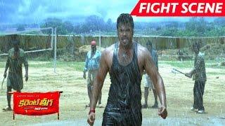 Manchu Manoj Best Fight Scene - Saves Rakul Preet Singh - Current Theega Movie Scenes