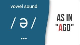 Vowel Sound /ə/ (Schwa) as in