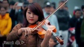 Wake me up: Flashmob, nghệ thuật đường phố chất trên cành quất ở Việt Nam