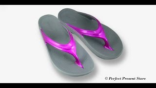 OOFOS Sandals - Cosmic Pink OOlala Sandals
