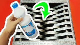 SHREDDING BLEACH IS SATISFYING BUT DRINKING IT... | ASMR sounds  #YAWS Ep. 32