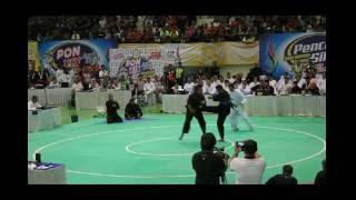 PON XIX Pencak Silat Jabar 2016 FINAL ERI VS ANTON