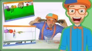 1 Hour Blippi Compilation  | Educational Videos for Children - Sink or Float