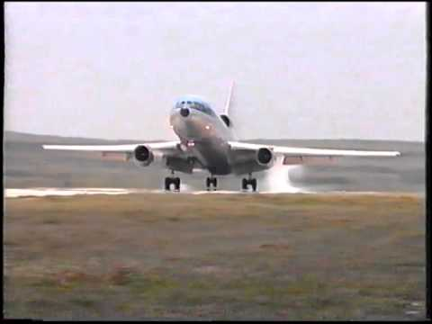 KLM DC-10 PH-DTB landing at CUR