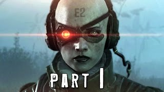 Metal Gear Solid 5 Phantom Pain Walkthrough Gameplay Part 1 - Quiet (MGS5)