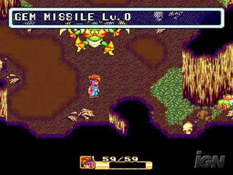 Secret of Mana 1993 IGN Gameplay Vault