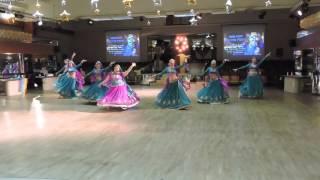 Студия Индийского танца Арины Лялиной - Barso re - Indian dance fest Moscow 2015 - Bollywood dance