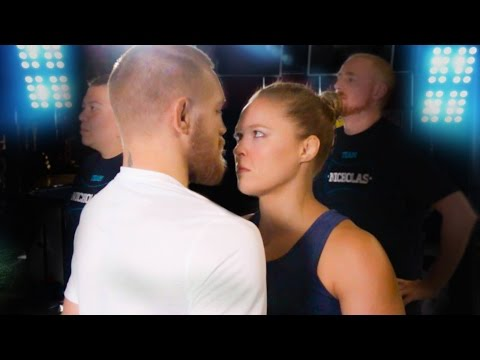 Conor McGregor Vs Ronda Rousey The Finisher Challenge