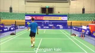 Lee Chong Wei Training sessions in CBSL 2013