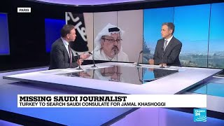 """Missing Saudi journalist is """"going to exacerbate relations at a time when Saudi Arabia needs allies"""""""