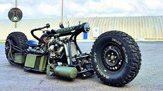 8 Crazy Homemade Vehicles & Great INVENTIONS