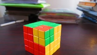 how to solve Rubik's cube 4 by 4 very easy tutorial in Bangla