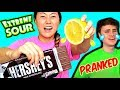 DIY EDIBLE CANDY PRANKS!! Learn How to Make Sour Chocolate, Salty Gummy, Spicy Starburst 😂🍫