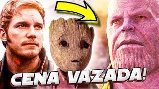 VAZADA A CENA DO FILME VINGADORES GUERRA INFINITA