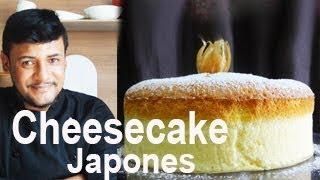 CHEESECAKE  JAPONES PASSO A PASSO