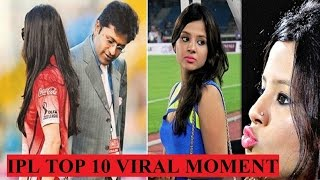 IPL All Seasons Top 10 Controversial  and Viral Moment || IPL 2008-2017 ||