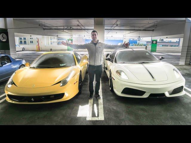 Driving Floyd Mayweathers Ferrari!