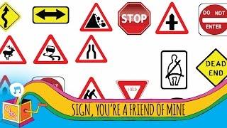 Sign, You're  a Friend of Mine   Animated Karaoke