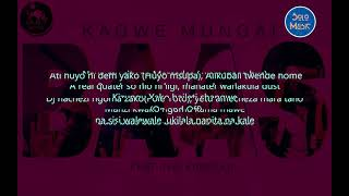 Kagwe Mungai - Baas ft The Kansoul (Lyric Video)