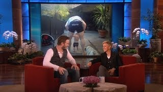 Chris Pratt's Whole Family Loves Ellen Underwear